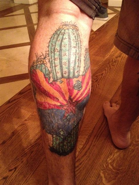 arizona flag tattoo arizona flag tattoos