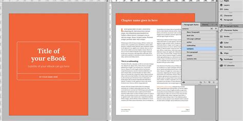 indesign templates book how to create a fantastic ebook in 48 hours with