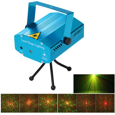 Mini Laser Stage Light Multicolor Projector 6 Pattern Mgy 006 1 aliexpress buy mini led laser pointer disco stage light pattern lighting projector
