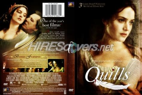 quills le film dvd cover custom dvd covers bluray label movie art