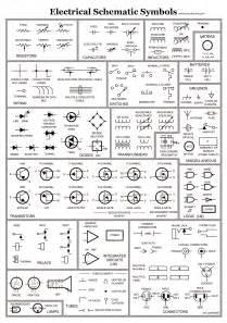 electrical schematic symbols circuitstune