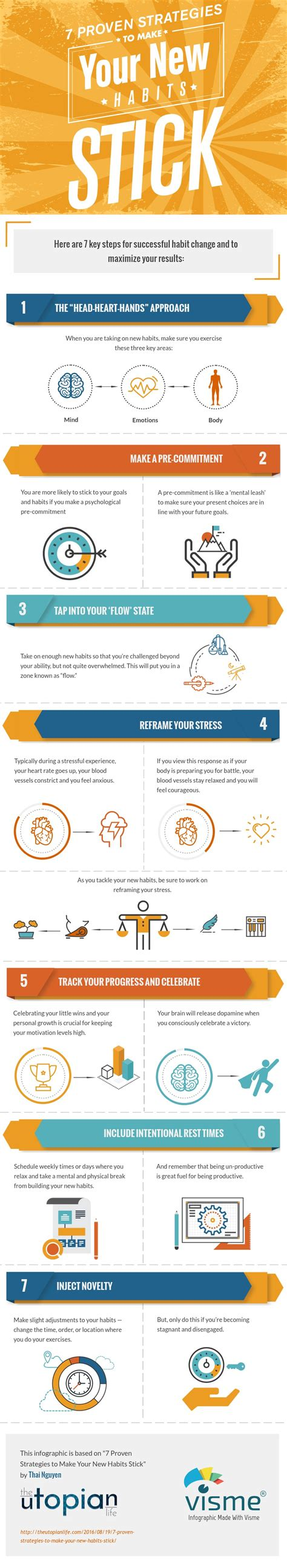 Infographic 24 Daily Habits That Will Make You Smarter Designtaxi Make New Habits Stick Infographic Self Help Daily