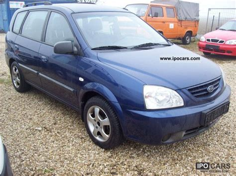 2002 Kia Specs 2002 Kia Carens Crdi Lx Car Photo And Specs