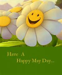 Happy May Day With Sunflower Free ECards Greeting Cards