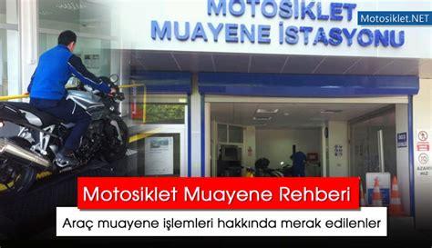 motosiklet muayene rehberi