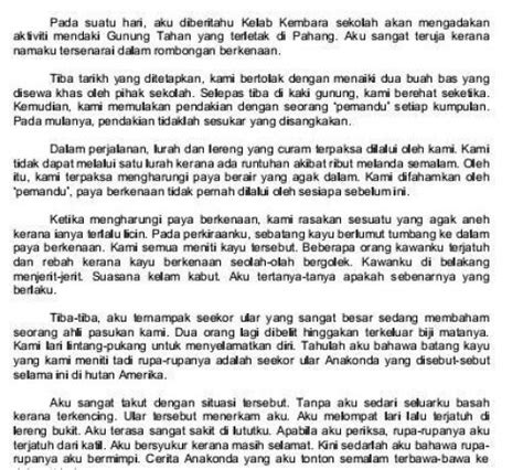 format karangan artikel bahasa inggeris karangan ramalan bahasa melayu upsr
