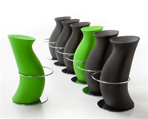 Soft Green Stool by Modern Bar Stools And Kitchen Countertop Stools In Soft Shapes