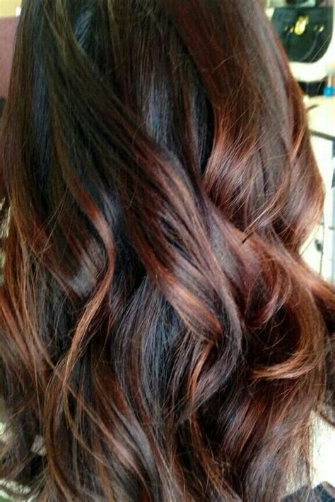 auburn hair color with highlights 30 and rich brown hair ideas styleoholic