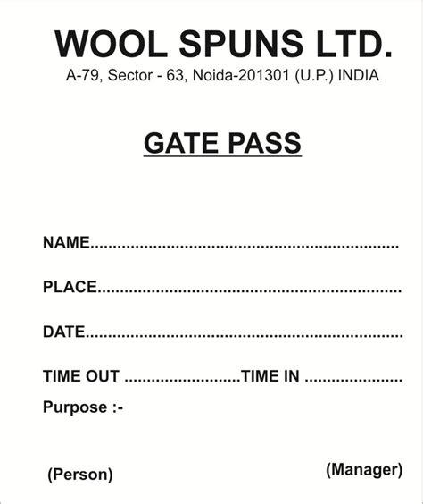gate receipt template free gate html autos weblog