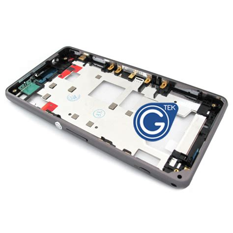 Sony Xperia Z1 Compact Z1 Mini D5503 Frame Middle Plate sony xperia z1 compact xperia z1 mini d5503 centre frame chrome bezel with 3pcs small in