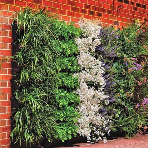 wall garden diy vertical wallgarden system plants green