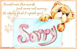 sorry upset you sorry card sorry greetings card