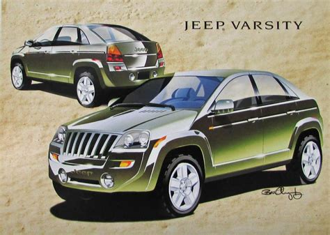 jeep varsity 2000 jeep varsity concept original color data sheet