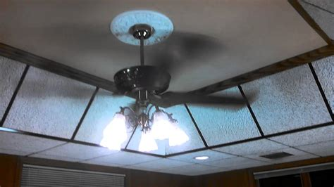 Emerson F490aw 4 Light White Ceiling Fan Light Fixture