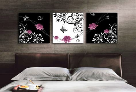 black and white canvas printing bedroom by canvas ch
