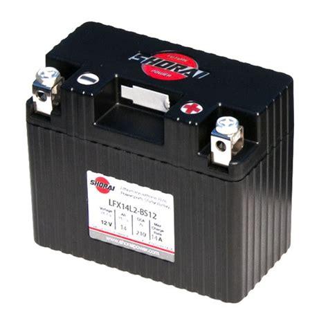 Motorrad Batterie Gewicht by Lfx14l2 Bs12 Shorai Lithium Ultra Low Weight Powersports