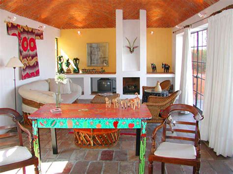 mexican living room mexican houses eclectic living room painted furniture