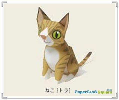 Cat Papercraft - cat papercraft maruman papercraftsquare