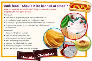 Junk Food In Schools Argumentative Essay by Junk Foods Should Be Banned In Schools Essay Pdfeports867 Web Fc2