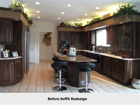 the design confusion of kitchen soffits organized by design