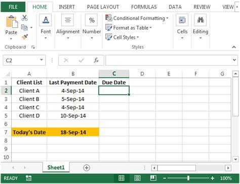 Calendar Calculator Weeks Between Two Dates Ms Excel Calculate Weeks Between Dates How To Get