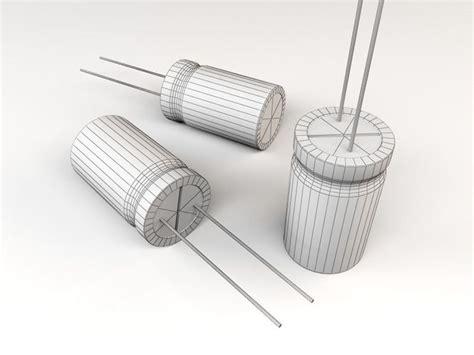 electrolytic capacitor thermal model 3d model electrolytic capacitor vr ar low poly max obj fbx ma mb mtl cgtrader