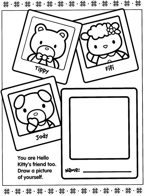 hello kitty printable activity sheets free coloring pages of hello kitty activity