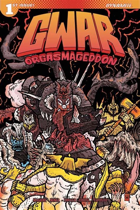 why comics from underground to everywhere books gwar to release orgasmageddon comic in june