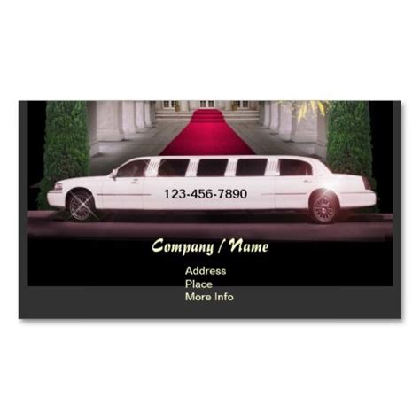 Limousine Business Cards Template by 257 Best Images About Taxi Business Cards On