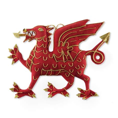 scottish irish nz welsh christmas decorations the