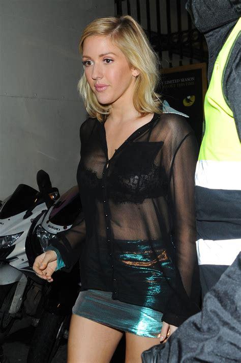 Ellie Goulding 1 ellie goulding see through 6 photos thefappening