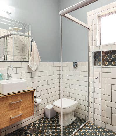azulejo no banheiro azulejos de metro banheiro renovado subway tiles