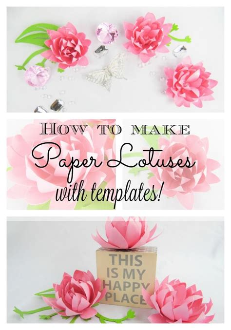 paper lotus flower tutorial 25 best ideas about paper lotus on crepe