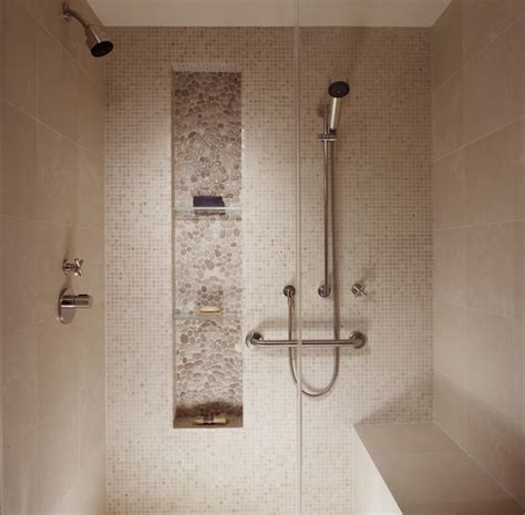 Built In Shelf In Shower by Higher Built In Shelf For Shower Room With Transparent