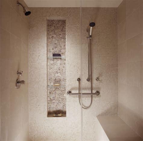 Shower Shelves Built In by Higher Built In Shelf For Shower Room With Transparent