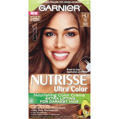 garnier hair colour models garnier nutrisse ultra color nourishing color creme shop