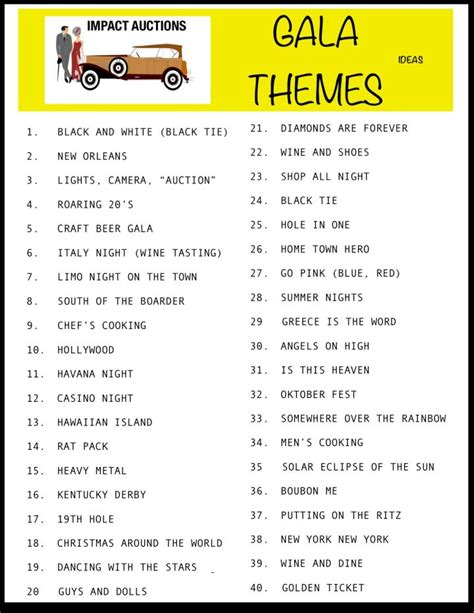 Theme Names For Conventions | gala themes jpeg fundraising pinterest gala themes