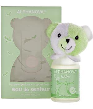parfum bebe baby green filles et garcons alphanova 100ml