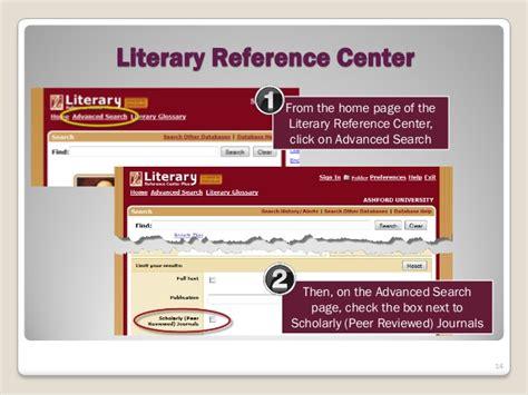 Peer Reviewed Literature Journals by Peer Reviewed Articles