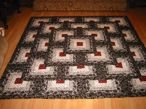 Thinking Outside The Box Quilt Free Pattern by Black White And The Pattern Is Thinking Outside The