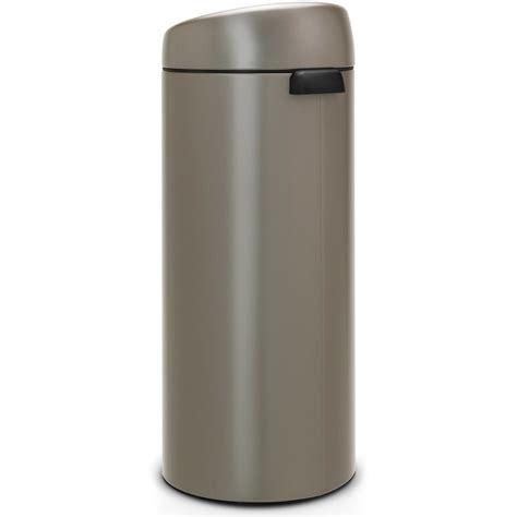 poubelle cuisine 30 l poubelle brabantia touch bin 30 l 402760 cuisine