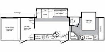Keystone Raptor Floor Plans by 2008 Keystone Rv Raptor Fifth Wheel Series M 3612 Ds
