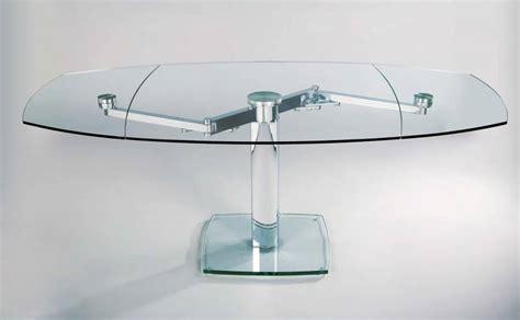 tavoli da pranzo in cristallo allungabili tavolo quot advance quot allungabile in cristallo vendita di
