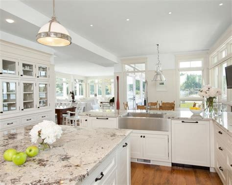 White Kitchen Cabinets With Granite Countertops Pictures Best White Kitchen Cabinets