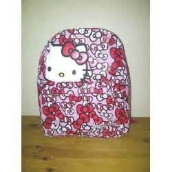 Tas Import Korea Tf951 Tas Slempang Hello Pink hello ransel motif pita pink pondok buah hatitoko perlengkapan anak mainan kayu tas