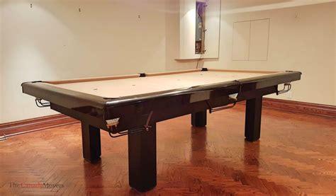 pool table moving toronto brton hamilton ajax barrie