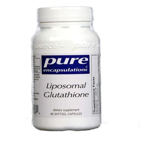 Liposomal Glutathione Detox by Encapsulations Liposomal Glutathione 60 Capsules