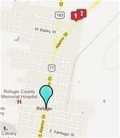 refugio texas map refugio texas hotels motels see all discounts