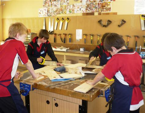 woodwork at school secondary school years 7 10