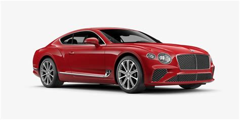 2018 continental gt bentley configurator allows you to build your own 2018